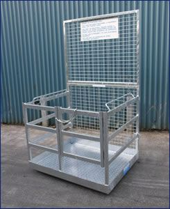 Picture of Forklift Safety Cage - Fully Welded
