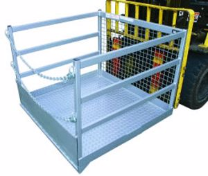 Picture of Forklift Goods Cage 1200mm Wide 1000Kg SWL
