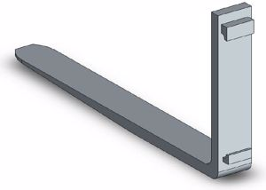Picture of Fork Tine Class 2 1070mm 2500kg SWL