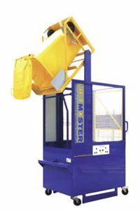 Picture of UBL Wheelie Bin Lifter 250kg Fully Caged