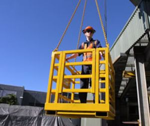 Picture of Crane Man Cage 2 Man (No Roof)