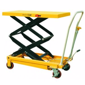 Picture of Double Lift Scissor Lift Trolley 350kg (Melbourne)