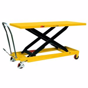 Picture of Huge Deck Size Scissor Lift Trolley with Foot Pump 500kg (Melbourne)