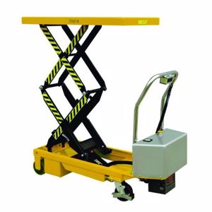 Picture of Double Electric Scissor Lift Trolley 350kg (Melbourne)