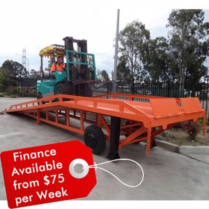 Picture of Truck Ramp 8 Tonne Container Ramp