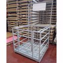 Picture of Safety Cage Zinc Flat Packed with Anchor Points