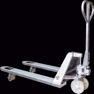 Picture of Galvanised Pallet Truck 685mm width 2500kg