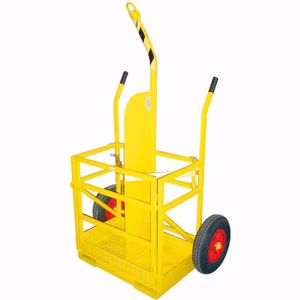 Picture of Welding Trolley 2 x Bottles with forklift and crane pickup and test cert.