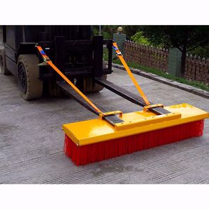 Picture of Forklift Broom Heavy Duty 2400mm 11 x Bristle Rows